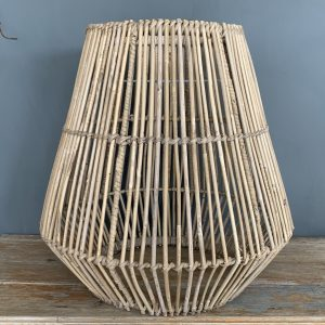 Large Shaped Open Weave Lamp Shade
