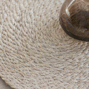 Jute Oval Placemats Pair