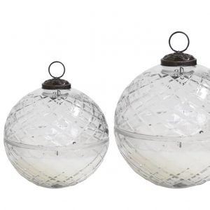 Glass Bauble Candle