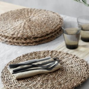 Seagrass Placemats Set of 4