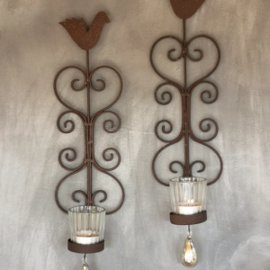 Bird of Paradise Wall Sconce