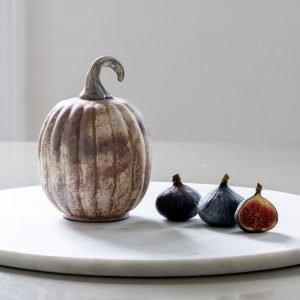 Antique White Small Pumpkin