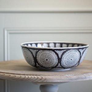 Charcoal Inca Bowl